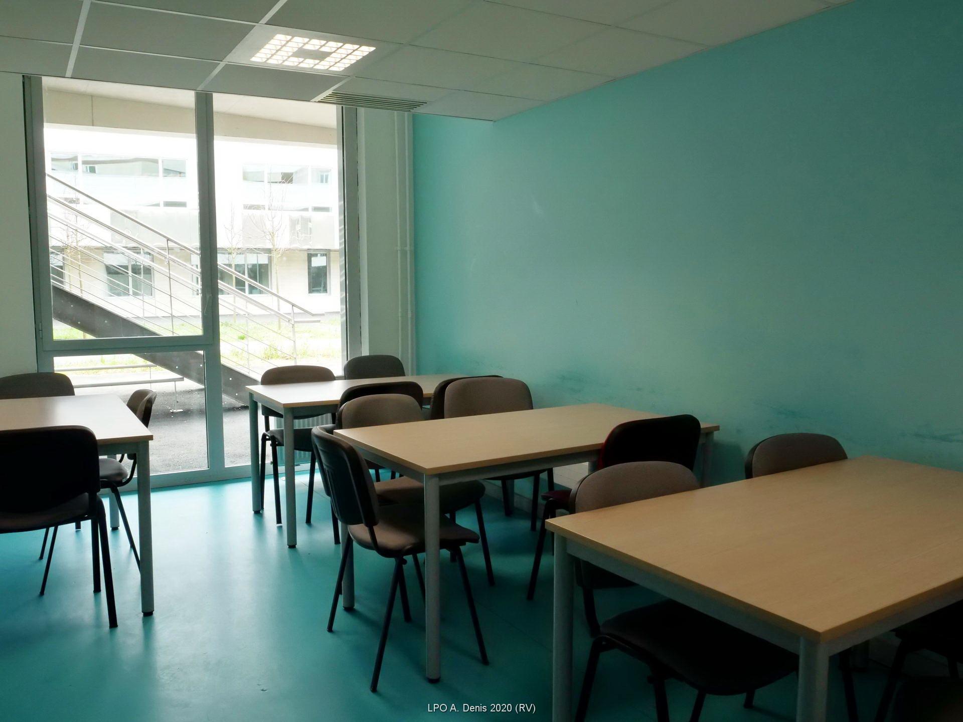 Une des salles d'étude
