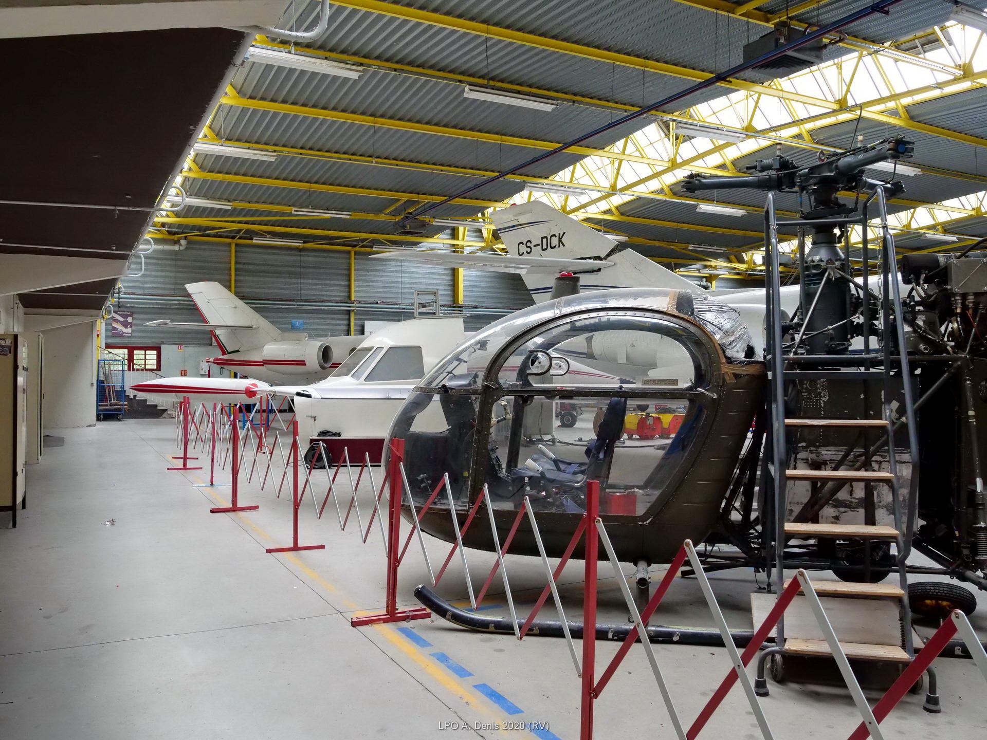 Le hangar maintenance aéronautique