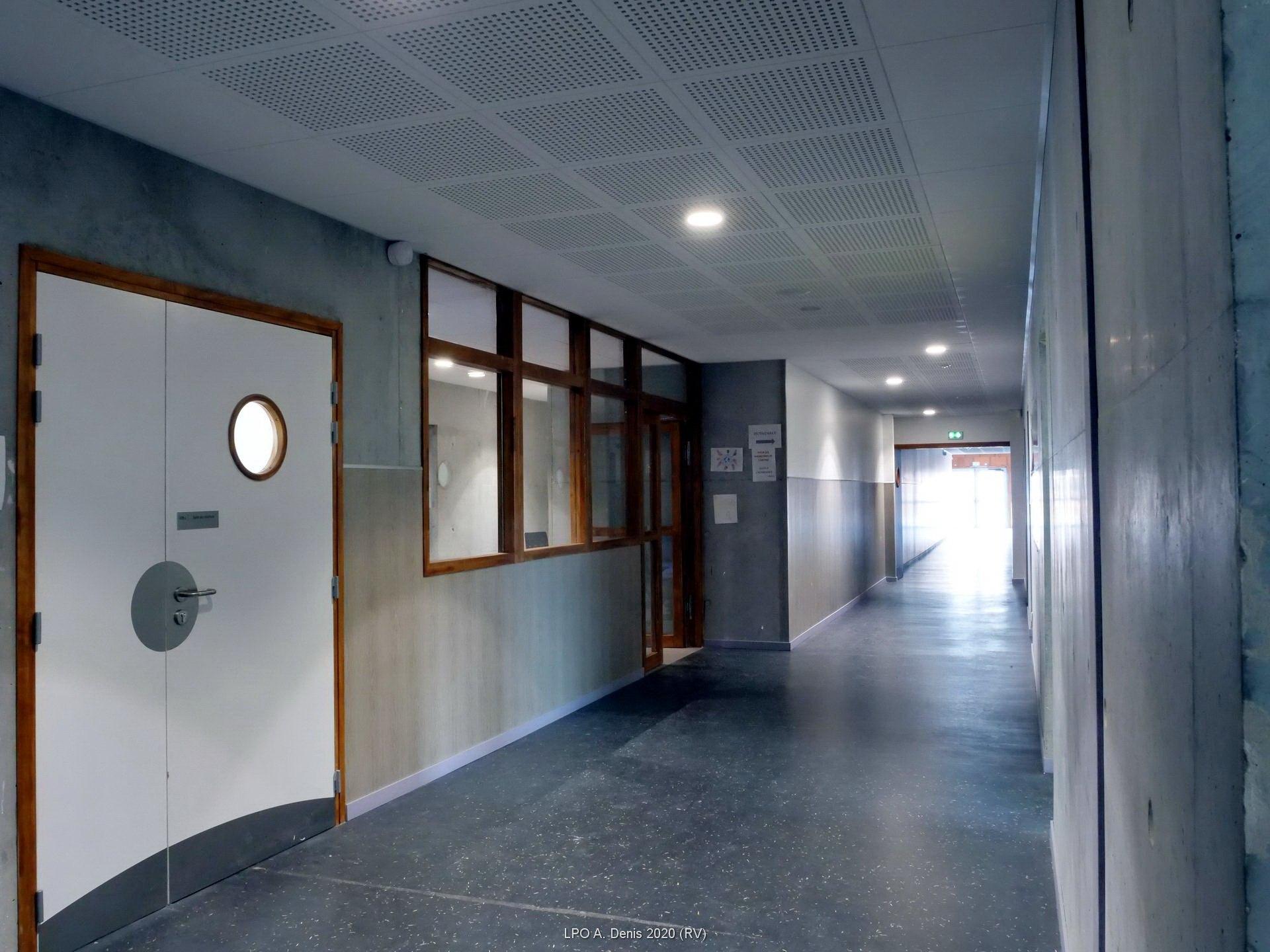 Couloir de l'administration