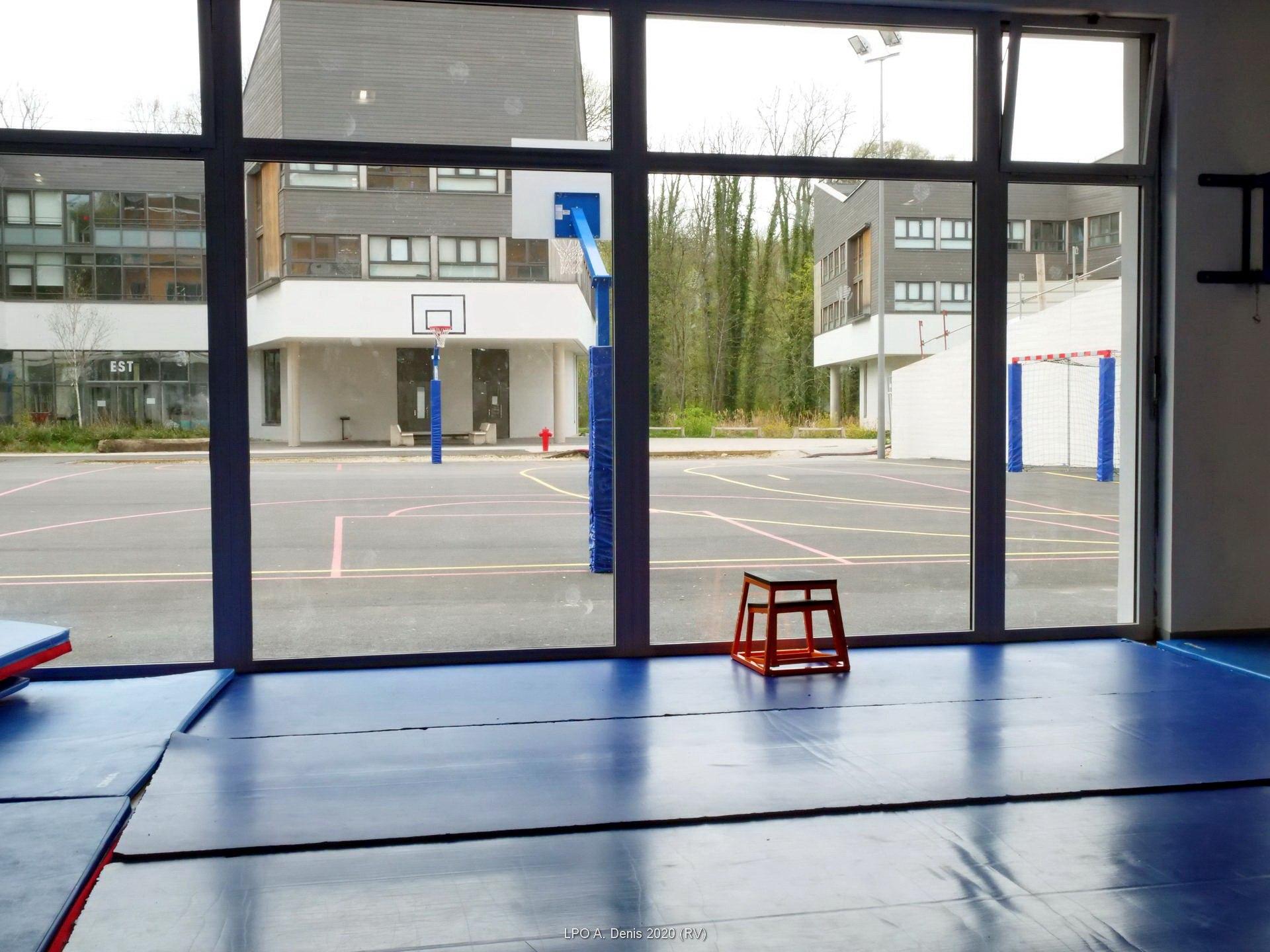 La salle de sport en rez de chaussée
