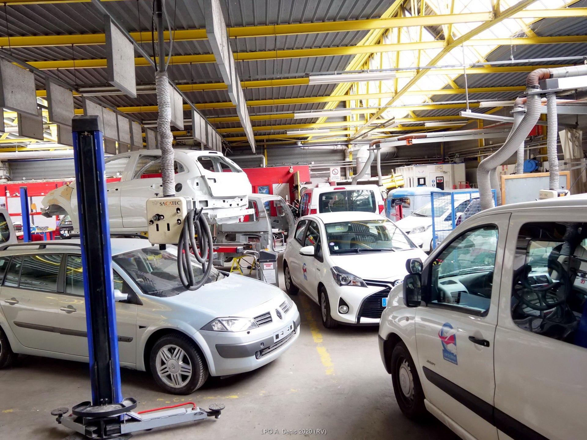 Atelier carrosserie